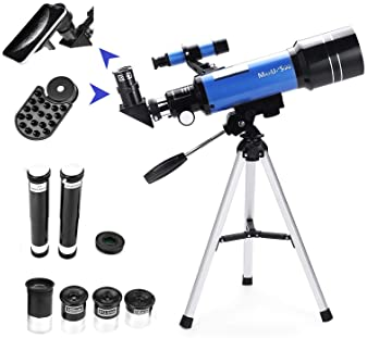 with Tripod Eyepieces Compass Star Finder JNWEIYU Astronomical Telescope for Professional Kids Telescopes,Adjustable Childrens Science Astronomical Telescope for Kids Beginners Astronomy Stargazing