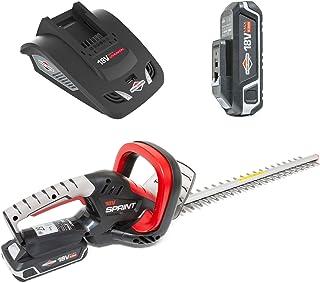 comprar comparacion Sprint 1697221 Cortasetos 18V Litio-Ion Q18HTK, 51 cm, 2.5Ah batería incluída, Rojo