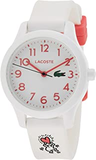 Lacoste Unisex-Child Quartz Watch, Analog Display and Silicone Strap 2030016
