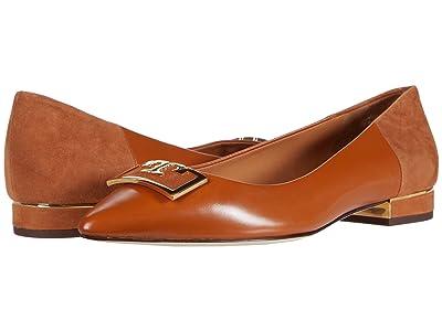 Tory Burch 20 mm Gigi Pointy Toe Flat (Ambra/Ambra) Women