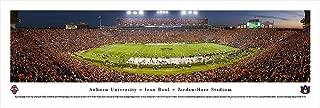 Auburn University Football - 50 Yard Line - Twilight - Blakeway Panoramas Print