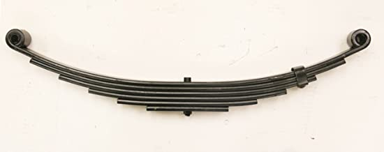 LIBRA New Trailer Leaf Spring-6 Leaf Double Eye 3500lbs Capacity for 7000 Lbs Axle - 20029