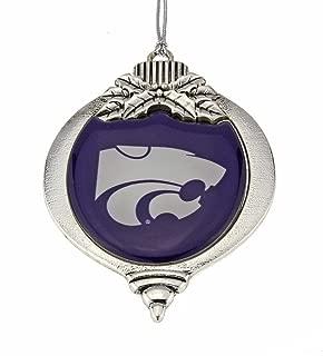 MadSportsStuff Kansas State Wildcats Christmas Ornament
