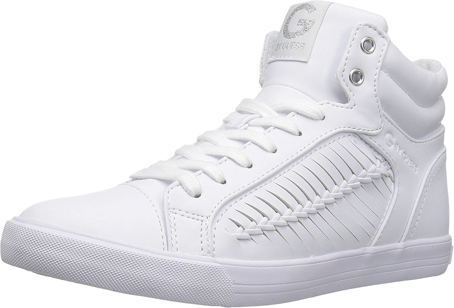 G by Guess Womens Olisa Hight Top Lace Up Fashion Sneakers