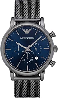 Emporio Armani Gents Wrist Watch, Grey AR1979