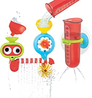 Yookidoo Baby Bath Toy - Spin 'N' Sprinkle Water Lab - Spinning Gear and Googly Eyes for Bath Time Sensory Development - A...