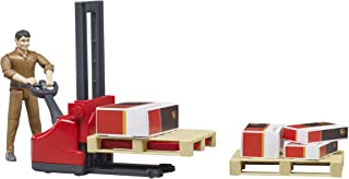 Bruder Figure-Set Logistics Ups VEHICLES - Toys
