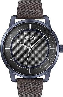 Hugo - Reloj analógico de Cuarzo para Hombre con Correa de Piel