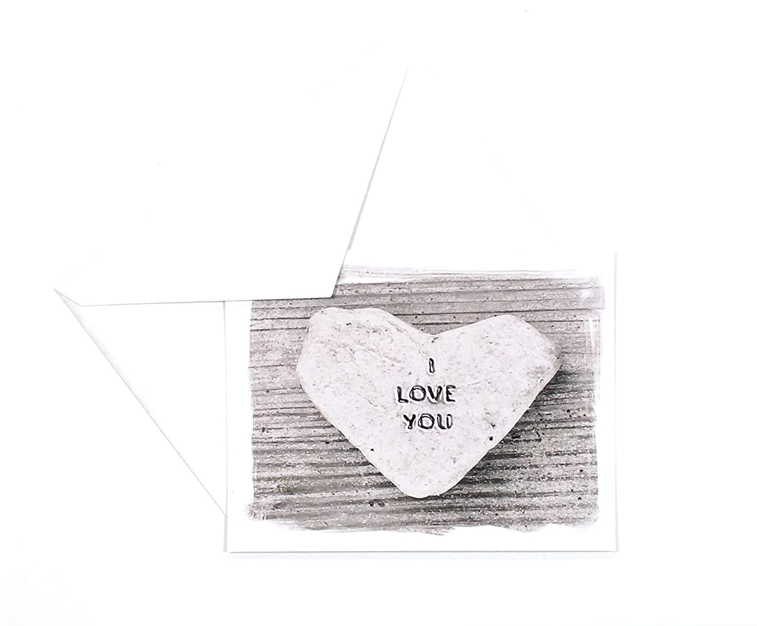 Romantic Beach Theme Heart Cards- Set You Love Animer and price revision Card Max 66% OFF I