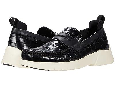 COACH Croc Hybrid Loafer (Black) Men