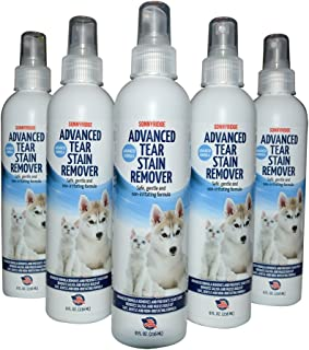 Sonnyridge Eye Stain Remover Removes Tear and Eye Stains Quickly and Naturally for Dogs, Cats or Your Pet Safely Removes Eye Stains, Tear Stains, Mucus and Prevents Future Tear Stains from Forming