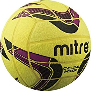 mitre B5038 Cyclone Indoor Soccer Ball Size 4 Or 5