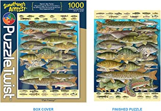 Something's Amiss 1,000 Piece Jigsaw Puzzle - Fish Frenzy
