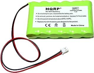 HQRP Battery Compatible with Ademco Honeywell Lynx LYNXRCHKITHC LYNXRCHKIT-HC K5109 781410403291 55026089 WALYNX-RCHB-SC WALYNXRCHBSC LYNXRCHKIT-SC Replacement