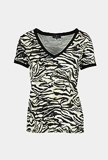 MONARI - Maglietta a maniche corte, colore: Nero