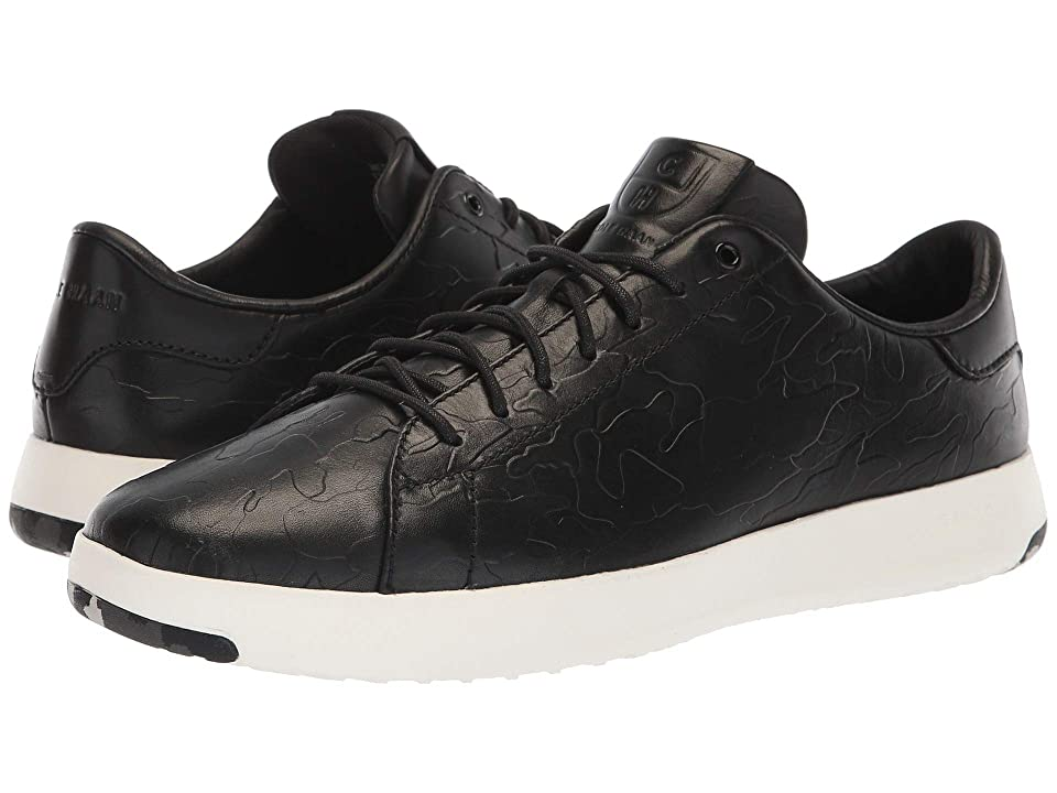 Cole Haan GrandPro Tennis Sneaker (Black/Black Camo Embossed) Men