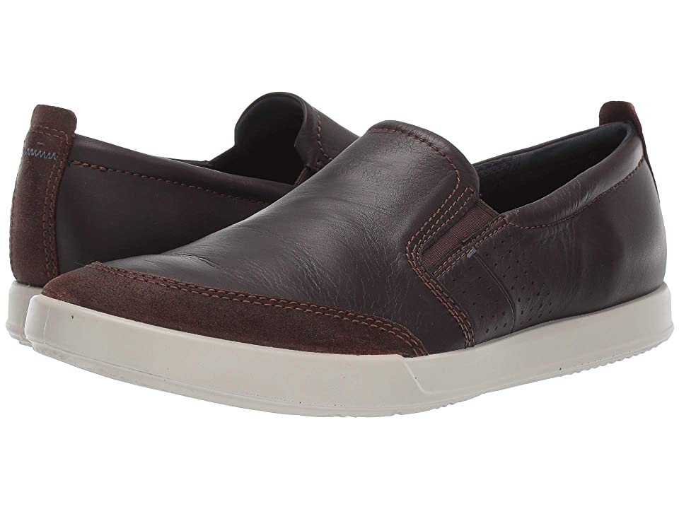 ECCO Collin 2.0 Slip-On (Coffee/Coffee) Men's Shoes