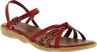 Famolare Women's Strap Music Ankle Strap Sandal