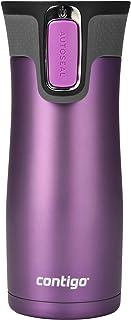 Contigo AUTOSEAL West Loop Stainless Steel Travel Mug, 16 oz, Bright Lavender