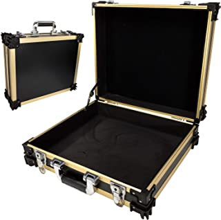 T.Z. Case International 16 Inches Packaging Cases, Black Gold, One Size
