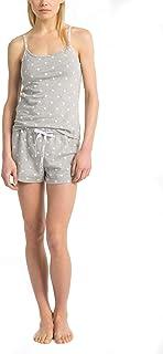 Calvin Klein Women's Carousel Logo Camisole & Shorts Pajama 2-Piece Set
