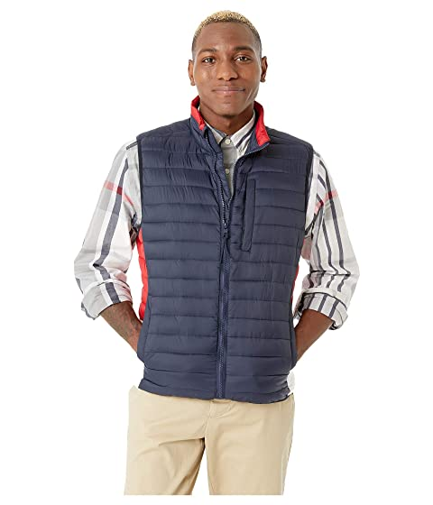 Quilted Vest with Magnetic Zipper
