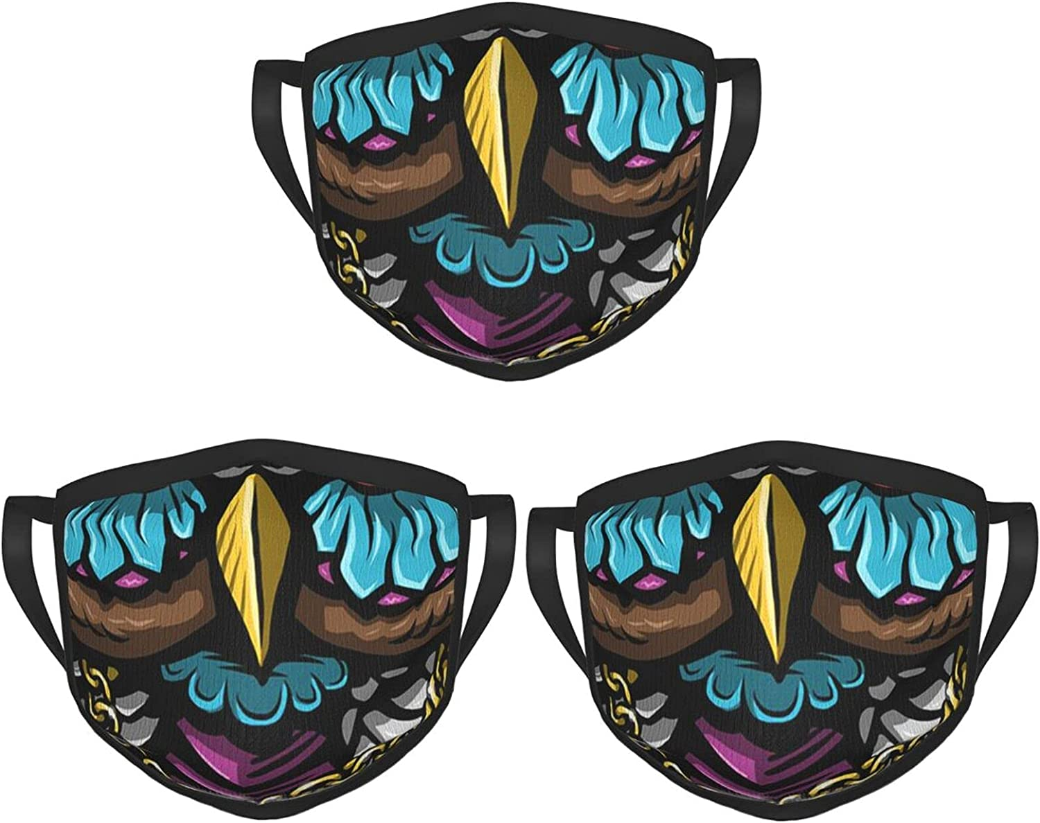 Balaclava Earmuffs Psychedelic Graffiti Owl Pop Inspiration Face Mouth Cover Mask Reusable Windproof Scarf Towel Cover Headwrap