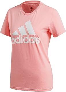 adidas Women's W Bos Co Tee T-Shirt (Short Sleeve)