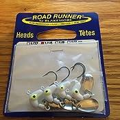 Blakemore Original Road Runner Heads 1//4oz Bulk 11ct White