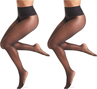 Women's No Digging Seamless Sheer Tights (2 Pack)