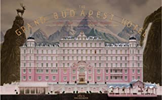 JIONK Grand Budapest Hotel Poster HD HOME WALL Decor Custom Painting PRINT unframed -1360 size (inch):24x38