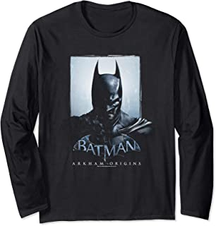 Batman: Arkham Origins Two Sides Longsleeve T Shirt Long Sleeve T-Shirt