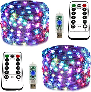 causeyoulove USB Copper Wire String Lights - 100 LED 33FT...