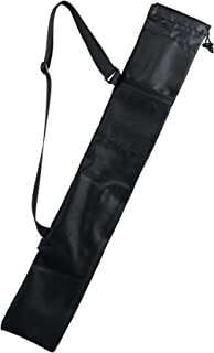 Cosmos Portable Carrying Bag Storage Bag Pouch for Walking Stick Trekking Hiking Poles, Black Color