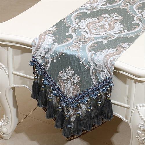 HOME UK- Mode Einfache Europ che Amerikanische Tischl er Mediterrane Stoff Kunst ( farbe   Blau , Größe   3330cm )