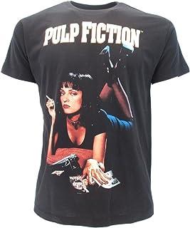 d1fb95a4b3 Pulp Fiction T-Shirt du Film avec Mia Walalce Uma Thurman - Officielle  Miramax Quentin