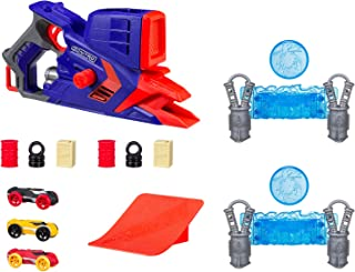NERF Nitro - FlashFury Chaos inc 3 foam Cars & obstacles - Kids Toys - Ages 5+