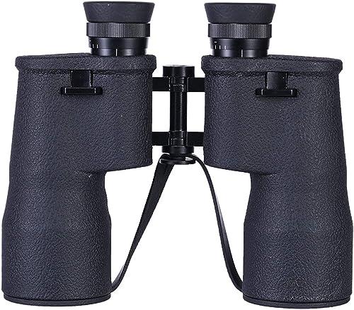 YXXHM- Jumelles 10X50 Grand Angle, Faible lumière Visible, Microscope Portable d'extérieur