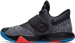 Men's KD Trey 5 VI Basketball Shoe Black/Chrome/Photo Blue/Bright Crimson Size 11 M US