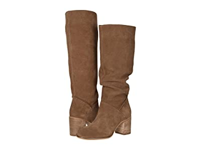 FRYE AND CO. Phoebe Slouch Tall (Cognac Suede) Women