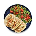 Amazon Meal Kits, Chicken Tacos with Pickled Jalapeño Slaw and Charred Corn-Tomato Salad, Serves 2