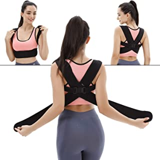 Back Posture Corrector Clavicle Support Brace for Women & Men for Your Upper, Lower Back, Helps to Improve Posture, Prevent Slouching and Upper, Lower Back Pain Relief
