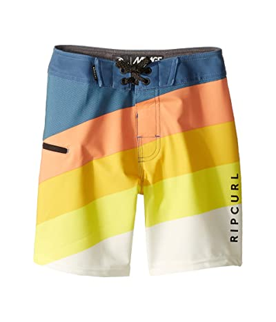 Rip Curl Kids React Boardshorts (Big Kids) (Orange Popsicle) Boy