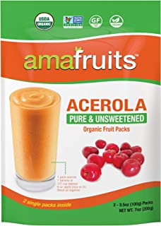 Amafruits Acerola Organic Fruit 10 Bag Bundle