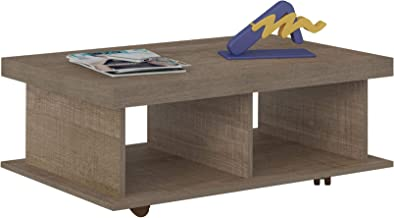 Artely Honeycomb Dunas Coffee Table, Brown - H 35 cm x W 90 cm x D 59 cm