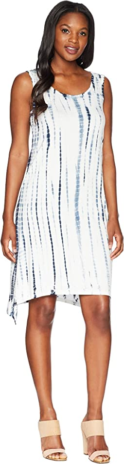 Tribal Soft Jersey Hi-Lo Tie-Dye Dress