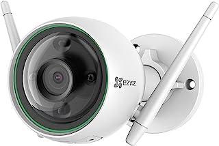 EZVIZ Smart Security Camera Outdoor 1080P AI-Powered Person Detection Colour Night Vision H.265, IP67 Waterproof, Customiz...