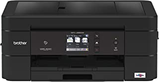 Brother Wireless All-in-One Inkjet Printer, MFC-J895DW, Multi-function Color Printer, Duplex Printing, NFC One Touch to Connect Mobile Printing, Amazon Dash Replenishment Enabled (Renewed)