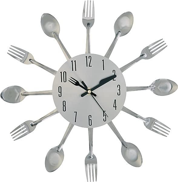 Kole OB951 Clock Kitchen Cutlery Wall Clock