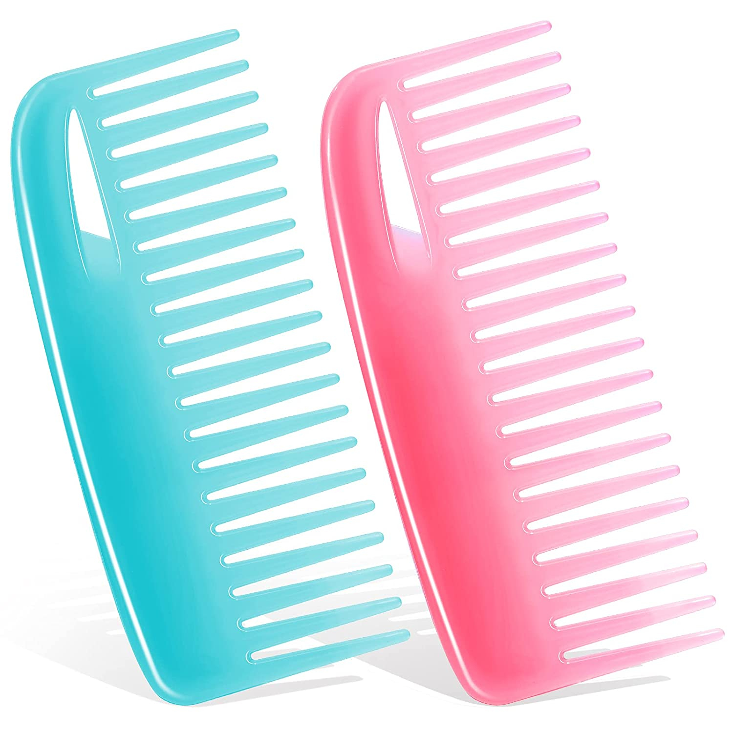 Wide Tooth Comb Hair for Ranking TOP14 2Pcs Combs: Don't miss the campaign Curly